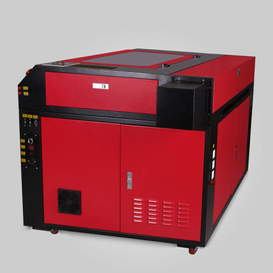 100W CO2 Laser Engraver Cutter Cutting Engraving Machine w// 3-JAW Rotary Axis