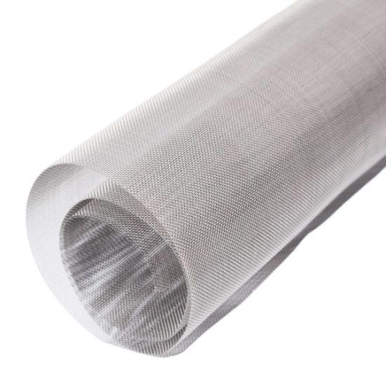 Acid//Alkali High Temperature Resistant Titanium Wire Mesh Sales 10cmx50cm 40 Mesh