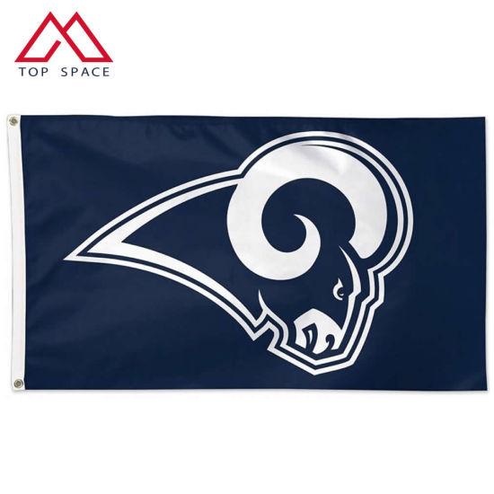 NFL Football Sports Advertising Cheap Los Angeles Rams Flag