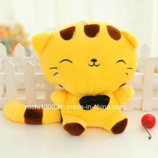 New Stuffed Cartoon Design Plush Animal Stuffed Mascot Soft Toy Cat Factory