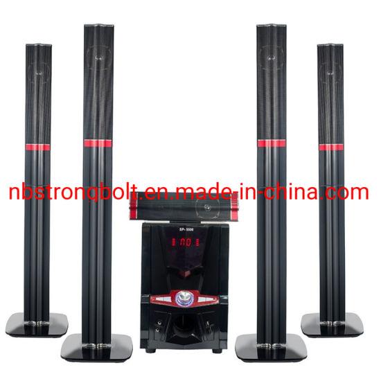 Home Theater 5.1 Channel Speaker Box Multimedia Active Bluetooth Speaker Manufacturer & Factory Jr-5500
