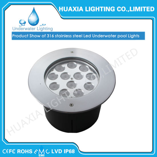 Dc12v White Color Waterproof Led Recessed Light With Plastic Housing