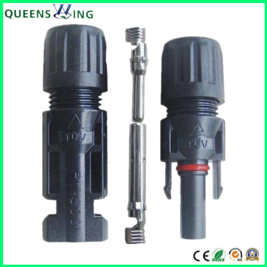 Mc4 Male and Female Cable Connector pictures & photos