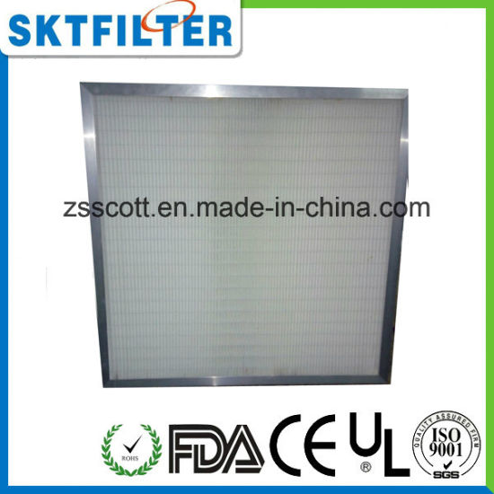 Clean Room Specified by Customer H13 HEPA Filter pictures & photos