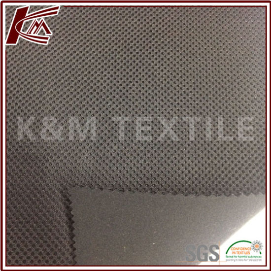100% Polyester TPU Coating Mesh Bonded with Brushed Fabric