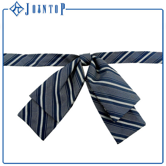 Necktie Gift Wholesale Lady Polyester Woven Bow Ties pictures & photos