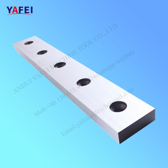 Guillotine Shear Blade for Cold Cutting Steel Sheet and Strip