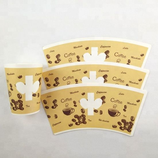 Nature Cup PE Coated Disposable Cup Paper Fan/ Paper Sheet