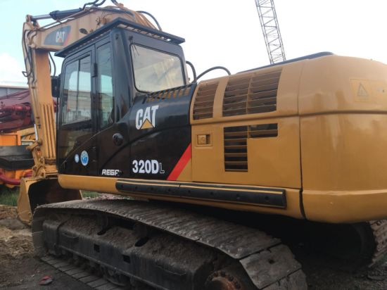 Cheap and Well Maintained Second Hand Caterpillar Cat320 Crawler Excavator for Sale