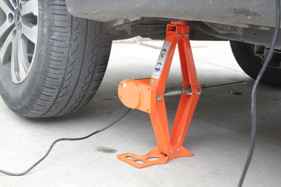 Professional Manufacture Heavy Duty Truck Electric Scissor Jack Suppliers pictures & photos