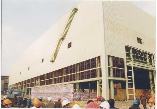 Large-Span Steel Structure Building (SS-538)