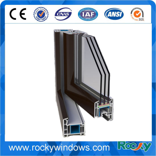 PVC Window and Doors Profiles with ISO Certificate
