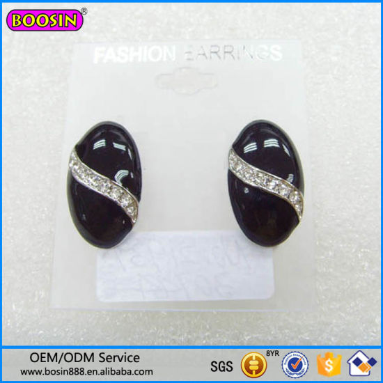 Fashion Jewelry Tin Alloy Beans Earring Wholesale#21939 pictures & photos