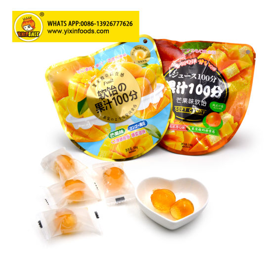 Sweet and Sour Mango Juicy Soft Candy