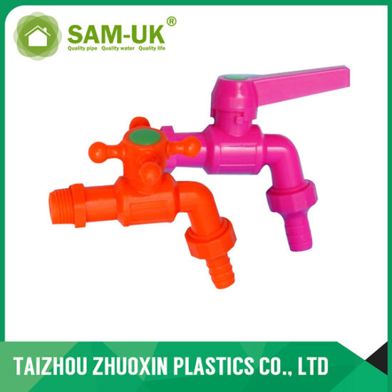 PVC Tap with Nozzle for Water Supply (ZX8065) pictures & photos