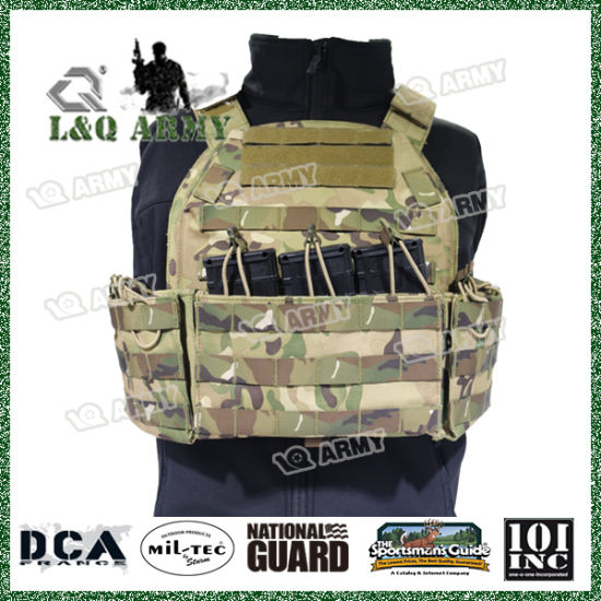 Bulletproof Tactical Vest with Magazine Pouches