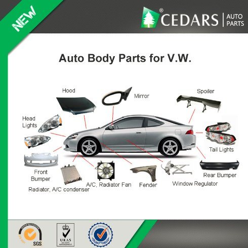 Auto Body Parts And Accessories For V W Tiguan China Body Parts