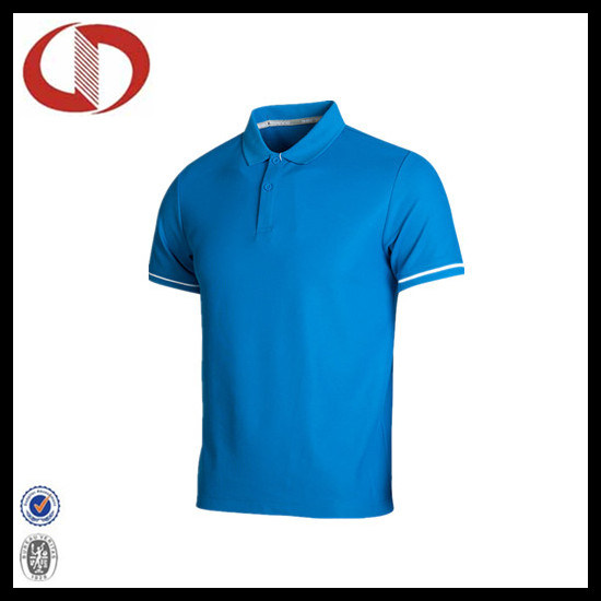 100% Polyester Wholesale New Style Polo Shirt for Man pictures & photos