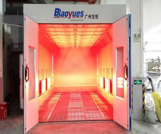 China Car Spray Booth Oven Infrared Heat Lamp For Paint