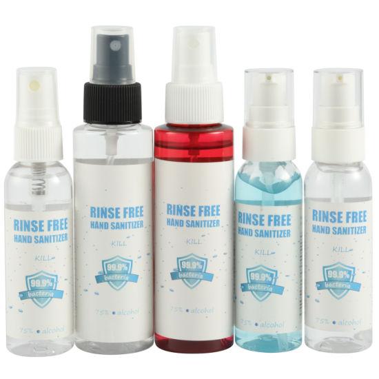 75% Ethanol Alcohol Hand Sanitizer Liquid Disinfectant Portable Alcohol Spray
