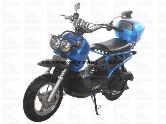 Zhenhua D50 Motorcycle EEC Euro4 50cc 4strokes Electric Kick Start Drum Disc