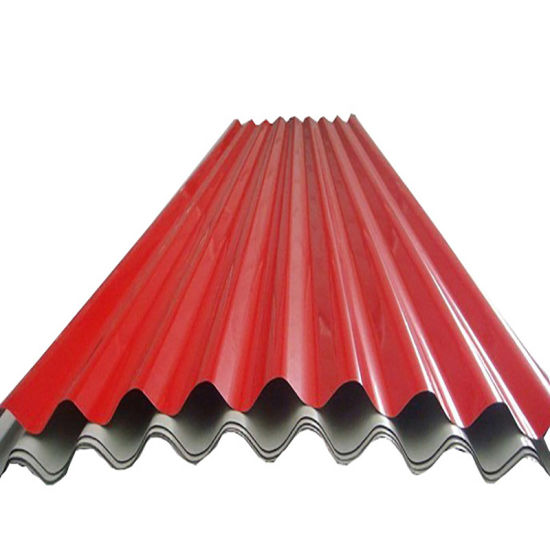 PPGI Corrugated Color Coated Galvanized Steel Roofing Sheet Price Per Kg