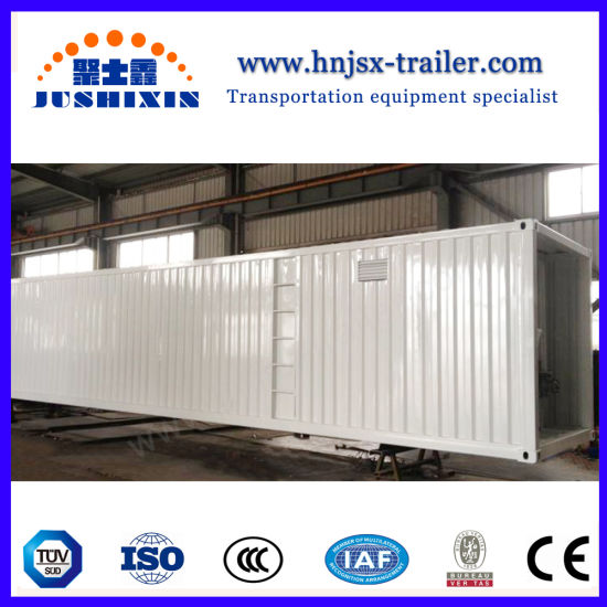 China 40FT 60cbm Chemical Liquid Semi Trailer ISO Tank Container ...