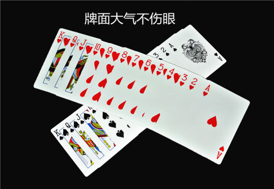 China No 777 Texas Jumbo Index Plastic Playing Cards Pvc Poker China Playing Cards And Plastic Cards Price
