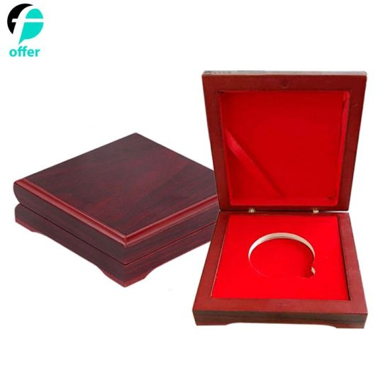 Promotion Gifts Challenge Coin Wood Display Box