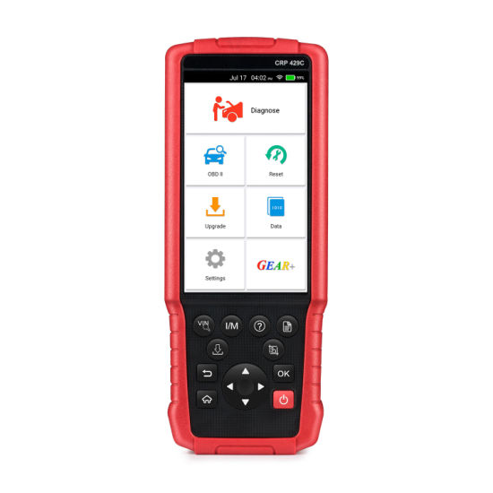 New Launch X431 Crp429c 4 Systems Obdii Code Reader OBD2 Auto Diagnostic Tool Crp429 C Crp 429c Auto Scanner Better Than Crp129