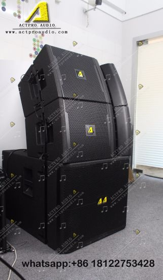 Vrx932&918s Compact Active Line Array System Professional Audio Speaker  with Amplifier Module
