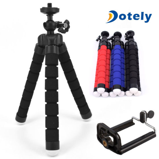 Portable Adjustable Camera Stand Holder Wireless Remote Universal Clip Phone Tripod pictures & photos