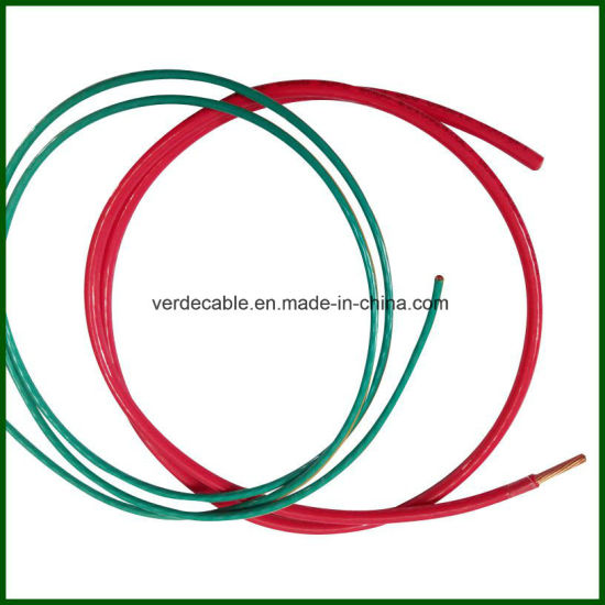 China RoHS Ce AWG10 6 Customized PVC Nylon Cable Thhn Wire for ...