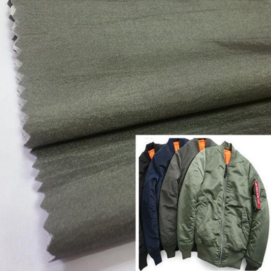 China Factory 100% Nylon Jacket Fabric Recycled Nylon Fabric Bomber Jacket Fabric