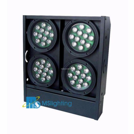 48*1W/3W/5W LED RGB/RGBW/RGBA/UV/Wa LED 4 Blinder Light