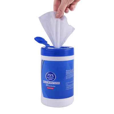 75/% Disposable Cleaning Wipes 1 Dispenser 50 Wipes Per Dispenser