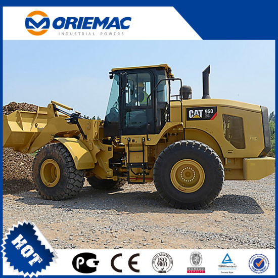 Construction Machinery Original New Caterpillar 7 Tons Front End Wheel  Loader Cat 972L with Spare Parts for Sale