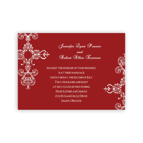 Hot Item 2019 Latest Designs Luxury Lace Chinese Wedding Invitation Card
