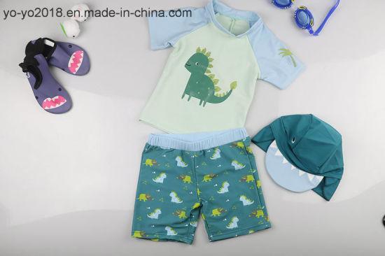 da815cd8c4 Dinosaur Printed Kids Beachwear Children Summer Beach Pants Baby Boy  Swimwear