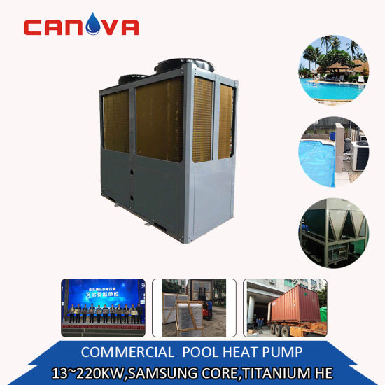 13.5kw-220kw OEM Customized Air to Water Swimming Pool Heat Pump with for Hot Water or House Heating with Low Price Popular Long Warranty for French Market