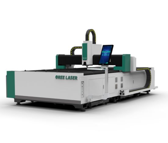 1kw CNC machinery stainless steel carbon steel aluminum open type CNC laser cutting and engraving machine