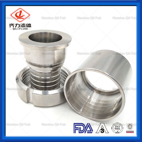 Sanitary Fittings Hose Adapter, Male & Female Coupling pictures & photos