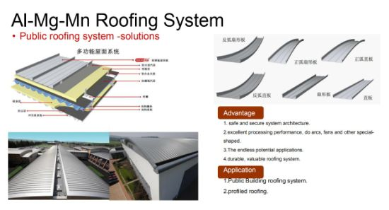 Air Tight Standing Seam Roofing System for Industry Steel Structure Building Envelop pictures & photos