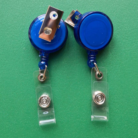 Retractable Badge Holder with Alligator Clip ID Badge Reel Clip Card Holders