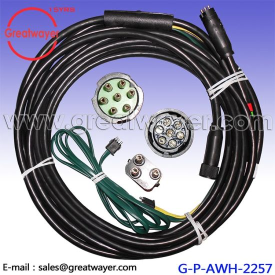 12AWG 7 Hole Adapter 3 Pin Female Trailer Wiring Harenss china 12awg 7 hole adapter 3 pin female trailer wiring harenss
