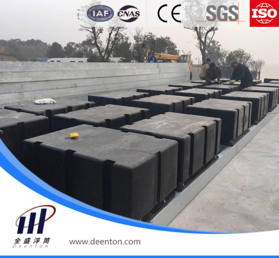 Big Black HDPE Float Pontoon Dock Block