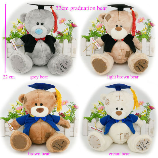 Hot Sale Cute Stuffed Graduation Teddy Bear