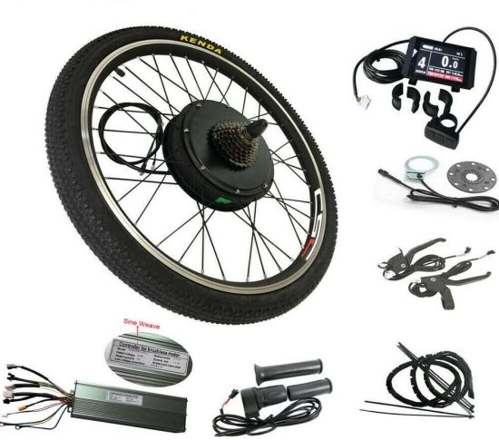 Electric Rear Wheel Kit Motor 250W 350W 500W 1000W 1500W 48V Regeneratoion Ebike