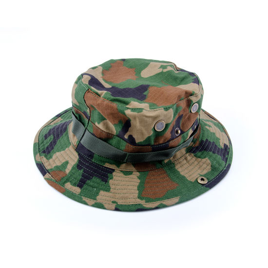 China Airsoft Tactical Marine Bucket Jungle Cotton Military Boonie ... 6453128f8ed