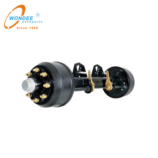 12t 14t 16t 18t BPW Germany Type Axle for Semi Trailer Vehicle Part